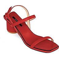Giày Sandal Gót Trụ 5 phân Sulily SGT1-II20 màu đỏ thumbnail