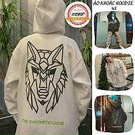 Áo khoác hoodie Chống Nắng Cho nam nữ in hình đầu sư tử , unisex form rộng có Dây Kéo ulzzang ảnh thật thumbnail