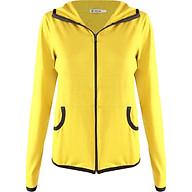 Áo khoác nữ thun lạnh viền màu nổi Phúc An 4049 thumbnail
