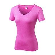 Áo thun thể thao nữ cổ V PRO Fitness Running Gymlink V2118 thumbnail
