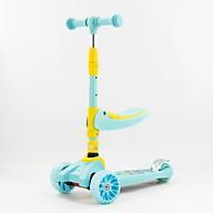 Xe Scooter SF-509 với màu sắc nổi bật, bền màu Khung xe được làm bằng hợp kim cao cấp siêu bền kết hợp với 3 bánh an toàn sẽ giúp bé dễ dàng trượt hơn phát triển được sự khéo léo ,nhanh nhạy cũng như sức khỏe của bé thumbnail