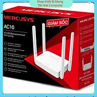 Bộ Phát Wifi Mercusys AC10 Phát Wifi Băng Tần Kép Chuẩn AC1200 - Hàng Chính Hãng thumbnail