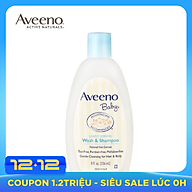 USA AVEENO BABY LIGHTLY SCENTED Wash&Shampoo 236ml thumbnail