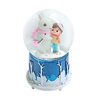 Hộp nhạc quả cầu tuyết mùa đông không lạnh thumbnail
