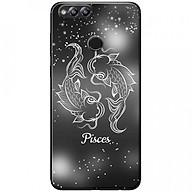 Ốp lưng dành cho Honor 7X mẫu Cung hoàng đạo Pisces (đen) thumbnail