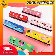 Kèn Harmonica Bằng Gỗ Cho Bé Montessori cao cấp Đồ chơi Gỗ - Giáo dục - An toàn - Thông minh thumbnail