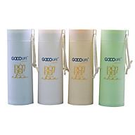 [HB Gift] Bình đựng nước thủy tinh bọc nhựa cao cấp Goodlife (400ml) thumbnail
