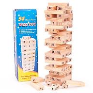 Combo 2 Đồ chơi rút gỗ 54 thanh loại cao 16cm - totdepreHG2022 thumbnail