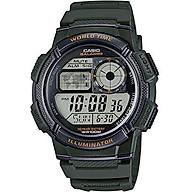 Casio Mens Digital Casual Quartz Watch AE-1000W-3A thumbnail