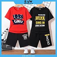 Set Đồ Bé Trai phong cách hàn quốc, Đồ Bộ mặc nhà thời trang trẻ em thương hiệu BAW mã 96-97 thumbnail