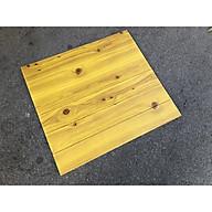 Combo 10 tấm xốp dán tường giả gỗ 3D thumbnail