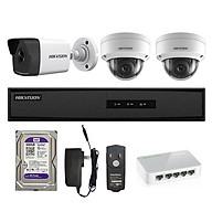 Trọn bộ 3 Camera IP 2MP HIKVISION - Hàng chính hãng thumbnail
