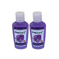 Combo 2 chai gel rửa tay khô Hapicare Lavender 60ml thumbnail