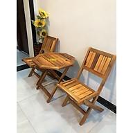 Bộ bàn cafe mini 2 ghế , bộ bàn ghế sân vườn VIMOS thumbnail