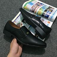 Giày Tây Phối Quai Da Mềm, Đế Khâu Lịch Lãm thumbnail