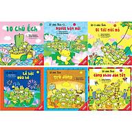 Combo Ehon 1 (6 Quyển)- 10 Chú Ếch (Tập 1 - Tập 6) thumbnail