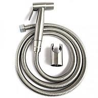 Vòi xịt vệ sinh inox ,xịt bồn cầu, toilet ,dây 1.2m xước mờ cao cấp, đẹp inox SUS 304 thumbnail