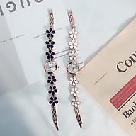 Đồng hồ thời trang nữ dây hoa TF485 thumbnail