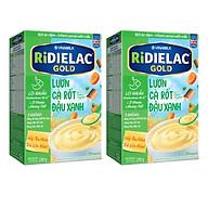 COMBO 2 Hộp BỘT ĂN DẶM RIDIELAC GOLD LƯƠN CÀ RỐT ĐẬU XANH - HỘP GIẤY 200G thumbnail