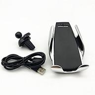 Giá đỡ điện thoại trên ô tô kiêm sạc không dây thumbnail