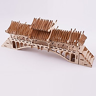 Đồ chơi lắp ráp gỗ 3D Mô hình Bridge HG-F024 thumbnail