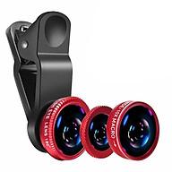 Bộ Ống Lens Chụp Hình Cho Điện Thoại Universal Clip Lens 3 In 1 (PVN644, PVN645, PVN646) thumbnail