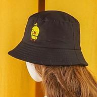 Mũ tai bèo bucket con vịt màu vàng Hạnh Dương thêu độc đáo, dễ thương, vành rộng chống nắng tốt, chất liệu vải mềm mại thumbnail