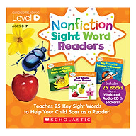 Nonfiction Sight Word Readers Level D With Cd (Student Pack) thumbnail