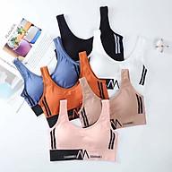 Bộ 3 áo bra nữ dáng 3 lỗ năng động cá tính - áo tập gym cao cấp - áo tập yoga nữ - Br10 thumbnail