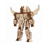 Đồ chơi lắp ráp gỗ 3D Mô hình Robot III Laser thumbnail