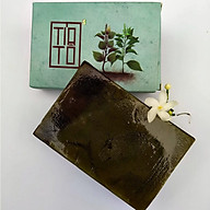 Xà bông Sinh Dược Tía tô, xà bông cục handmade 100gr, mẫu bao bì vẽ mộc, mùi hương nhu thơm nhẹ, làm sạch diệt khuẩn hiệu quả, an toàn và có lợi cho sức khỏe thumbnail