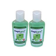 Combo 2 chai gel rửa tay khô Hapicare Trà Xanh 60ml thumbnail