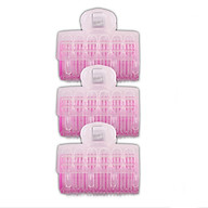 3PCS Magic Hair Styling Curlers Rollers Large Hairdressing DIY Tool Former Clip thumbnail