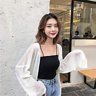 Áo Cadigan len mỏng phong cách Hàn Quốc- áo khoác mỏng cho nữ thumbnail