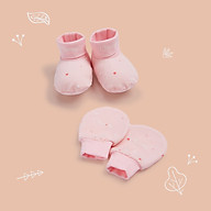 Bộ bao tay bao chân sao hồng CHAANG (1 bao tay, 1 bao chân) thumbnail