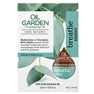 Oil Garden Breathe Easier Medicinal Oil 25ml thumbnail
