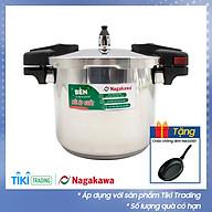 Nồi Áp Suất Cơ Inox Cao Cấp Đáy Từ Nagakawa NAG1452 (5L) - Dùng Trên Mọi Loại Bếp - Hàng Chính Hãng thumbnail