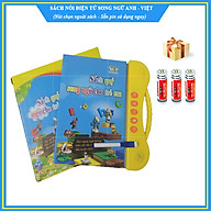 (Bản cao cấp) Sách quý song ngữ cho trẻ em - Sách nói điện tử song ngữ (Anh-Việt) (Kèm theo 3 quả pin sử dụng ngay) thumbnail