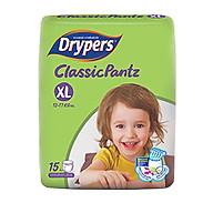 Tã Quần Drypers ClassicPantz XL15 (15 Miếng) thumbnail
