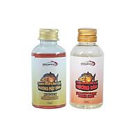 Combo 2 Chai Tinh Mùi Câu Cá Hirushima chuyên câu cá chép, cá rô, cá trôi, cá tra sản phẩm dùng làm mồi nhử hoặc thính dụ siêu nhạy 50ml chai thumbnail
