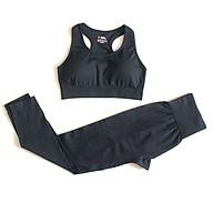 Bộ quần áo tập gym, yoga, tập thể thao cho nữ, freesize dưới 55kg thumbnail