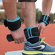 Tạ đeo cổ chân, cổ tay hỗ trợ tập thể thao, tập gym, chạy bộ thumbnail