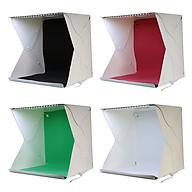 Hộp Chụp Sản Phẩm 30Cm X 30Cm Tích Hợp Đèn Led (4 Màu Phông Nền) - Hàng Nhập Khẩu thumbnail