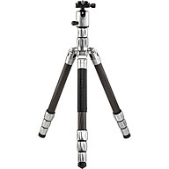 Chân máy ảnh Mefoto Globetrotter S Carbonfiber (Màu bạc Titanium) - Hàng Chính Hãng thumbnail