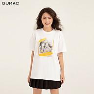 Áo thun in cô gái GUMAC ATB153 thumbnail