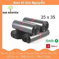 Túi gói hàng niêm phong tự dính size 25x35 hỗ trợ vận chuyển - bao bì Gia Nguyễn thumbnail