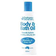 Grahams Body & Bath Oil 220ml thumbnail