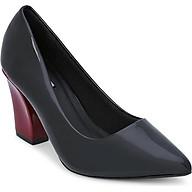 Giày Cao Gót Nữ Đế Vuông Rosata RO125 - Đen thumbnail