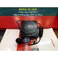 Máy trợ giảng MeGa S2 UHF, micro không dây, loa âm thanh chất lừ - hàng chính hãng thumbnail