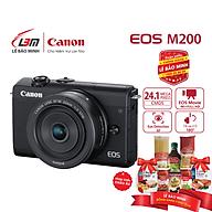 Máy ảnh Canon EOS M200 KIT EF-M15-45mm F 3.5-6.3 IS STM - Hàng Chính Hãng Lê Bảo Minh thumbnail
